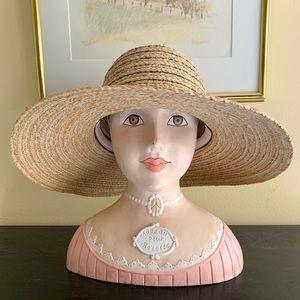 FLORA BELLA Raffia Sun Hat